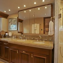 Nina Lu Yacht Bathroom - Basins