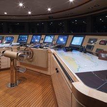 Vision Yacht Pilothouse