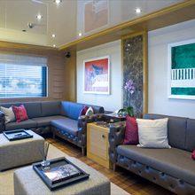 H Yacht Main Salon