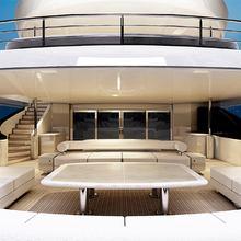 Natalina A Yacht Main Deck Aft