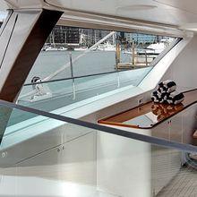 Kokomo III Yacht Salon - Staircase