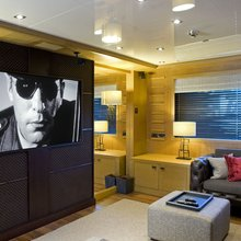 Neom Yacht Lounge area