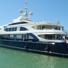 Vision Yacht Moored