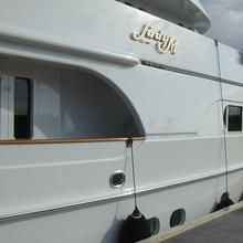 Lady M II Yacht External Side