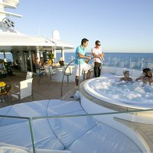 Huntress Yacht Jacuzzi In Use