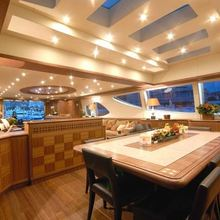 Force India Yacht Dining Room