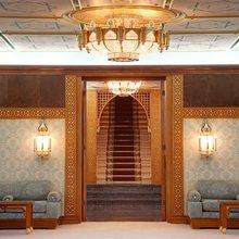 Al Mabrukah Yacht Stairwell