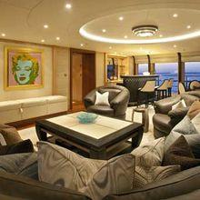 Ventum Maris Yacht Upper Lounge from Port