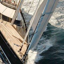 Kokomo III Yacht Running Shot - Front View