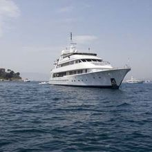 Ionian Princess Yacht Front View