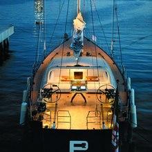 Yam 2 Yacht Deck - Night