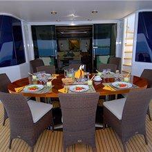 Providence Yacht Main Aft Deck