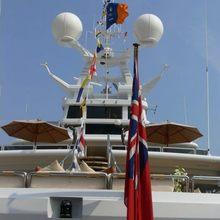 Lady A Yacht Aft Decks
