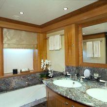 The Lady K Yacht Bathroom