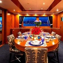 Genesia Yacht Dining Salon