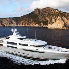Ventum Maris Yacht Running Shot - Profile