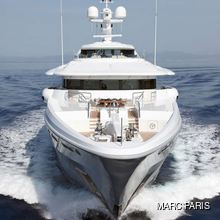 Ventum Maris Yacht Running Shot - Front View Close