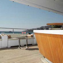 Samar Yacht Exterior Bar
