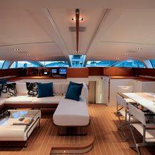 Yam 2 Yacht PIlothouse Salon - Overview