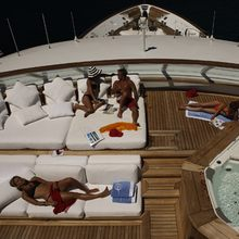 Golden Fleet Yacht Jacuzzi with Sun Loungers