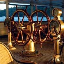 Savarona Yacht Wheel House