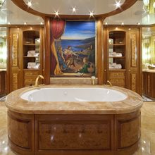 Lady Anastasia Yacht Master Bathroom