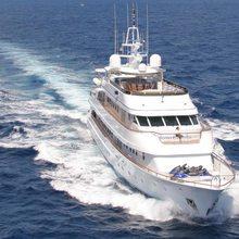 Ionian Princess Yacht Running Shot - Front