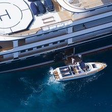 Leander G Yacht Tender Alongside