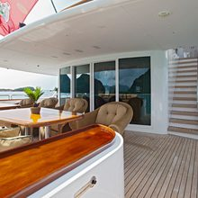 The Lady K Yacht Main deck