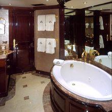 Ionian Princess Yacht Master Bathroom