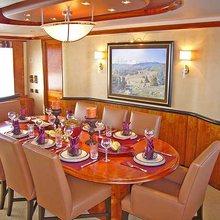 No Bad Ideas Yacht Dining Salon