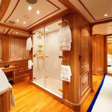 Enigma Yacht Private Bathroom