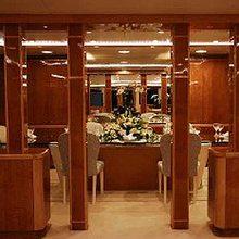 Rena Yacht Dining Salon - Detail