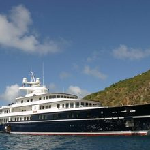 Leander G Yacht At Anchor - Profile