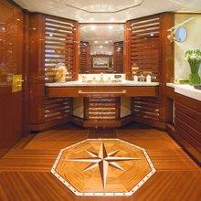 Bad Girl Yacht Office Bathroom