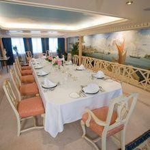 Leander G Yacht Dining Salon
