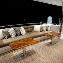 Nina Lu Yacht Exterior Lounge