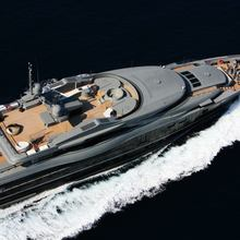 Nonni II Yacht Aerial View