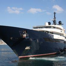 Seven Seas Yacht Bow