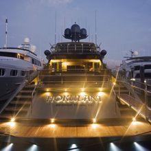 Hokulani Yacht Deck - Night