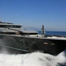 Nonni II Yacht Bow
