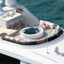 Bouchon Yacht Aerial View - Deck