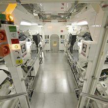 Huntress Yacht Engine Room