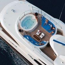 Vision Yacht Overhead