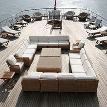 Savarona Yacht Sundeck