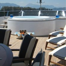 Ionian Princess Yacht Jacuzzi & Sun Loungers
