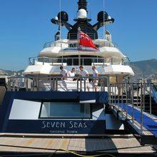 Seven Seas Yacht Stern - Deck View