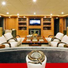 Lady MM Yacht Main Salon