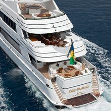Lady Anastasia Yacht Aft Decks