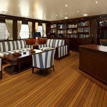 Sea Eagle Yacht Upper Lounge Area